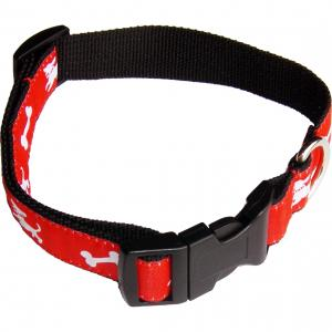 Dog Collar with Satin Applique