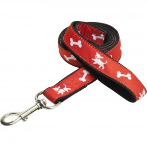 Dog Lead with Satin Applique