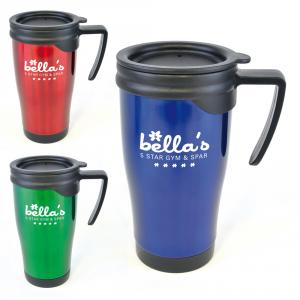 Dali Coloured Stainless Steel Travel Mug