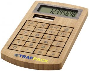 Eugene Wooden Bamboo Calculator