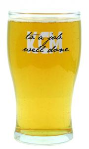 Tulip Pint Glass