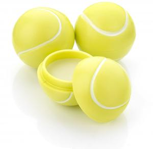 Tennis Ball Shaped Lip Balm