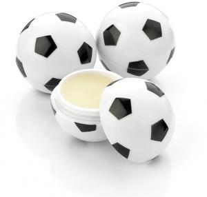 Football Shaped Lip Balm