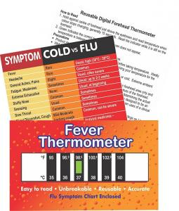 Adult Fever, Cold and Flu Symptom Pack