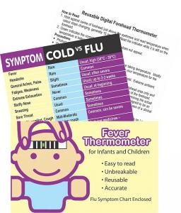 Child Fever, Cold and Flu Symptom Pack