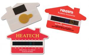 House Temperature Gauge Cards
