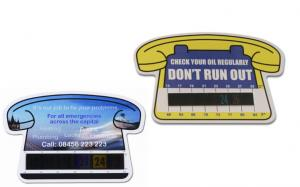 Telephone Temperature Gauge Cards