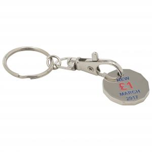 Trolley Keyring New Shape