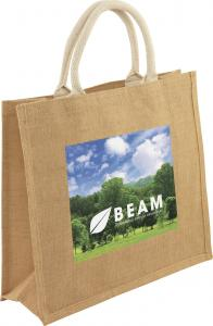 Medium Jute Bag With Full Colour Print