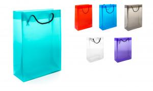Plastic PP Large Bag With Rope Handles