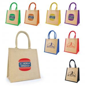 Halton Small Jute Shopper Bag