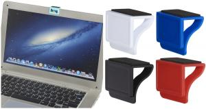 Clip-On Webcam Blocker with Screen Cleaner