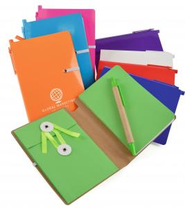 A6 Halifax Recycled Notebook With Lined Paper