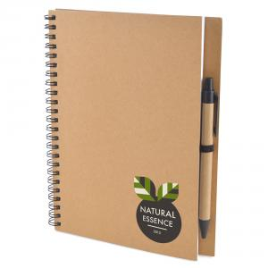 A5 Intimo Recycled Wiro Notebook With Pen