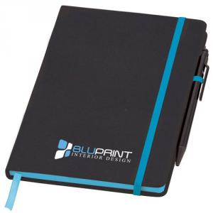 A5 Medium Noir Edge Soft Feel Notebook with Pen