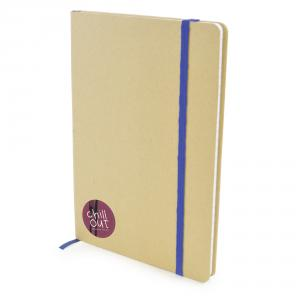 A5 Natural Notebook with Lined Paper