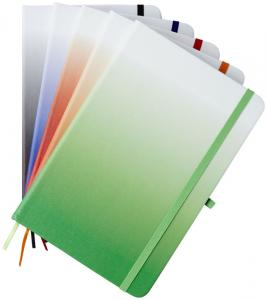 A5 Gradient Hard Cover Notebook With Lined Paper