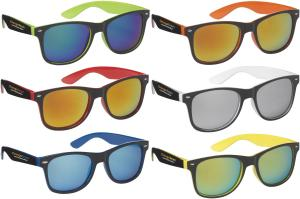 Fiesta Sunglasses With Mirrored Lenses