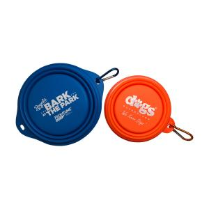 Collapsible Silicone Dog Pet Bowls