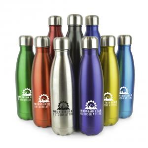Ashford Plus Stainless Steel Drinks Bottle